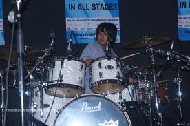 Josafat Song Played Drum @JakJazz 2013